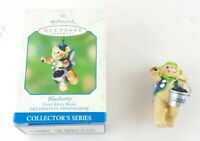 "Hallmark Keepsake Ornament ""Blueberry"" Fairy Berry Bears New Christmas Gift"
