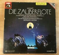 Mozart Die Zauberflote Lucia Popp Bernard Haitink 3 x Audio Cassette Tapes
