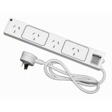 HPM 4 Outlet Surge Protected Powerboard