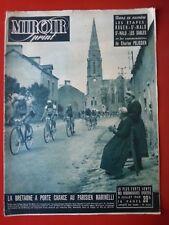06/07/49 Miroir sprint n° CYCLISME TOUR DE FRANCE 1949 LES ETAPES REY MARCELAK