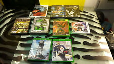 Wii Xbox Gamecube Nintendo DS Xbox one PC CD Lot of  9 Complete Games Good Shape
