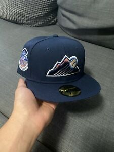 Myfitteds Colorado Rockies Magic Treehouse Fitted Size 7 1/8. Not Hat Club