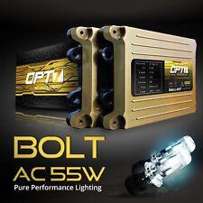 OPT7 AC 55w HID Kit H4 9003 Bi-Xenon 5000K Bright OEM White Beam Conversion Ligh