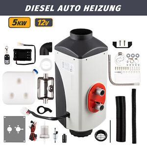5KW 12V Diesel Auto Heizung Standheizung Luftheizung Air Heater LCD PKW LKW Neu