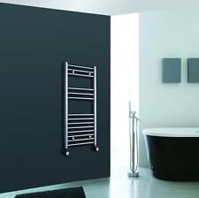Designer Chrome Vertical Towel Rail Central Heating Bathroom Radiator 800 x 500