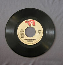 "Vinilo SG 7"" 45 rpm BEE GEES - TOO MUCH HEAVEN -   Record"