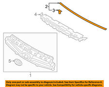 HYUNDAI OEM 13-15 Genesis Coupe Grille Grill-Upper Seal 863572M300