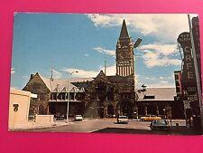 1968 Union Pacific Depot Cheyenne Wyoming WY Postcard ID#685