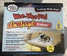 Four Paws Wee-Wee Pad on Target Trainer, Dog & Puppy Training Tray