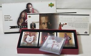 2003-04 Upper Deck LeBron James 32 Card Box Set Complete Opened Rookie RC