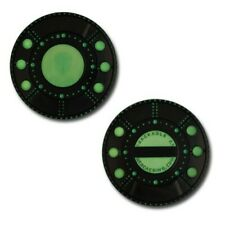 Alien Spaceship Geocoin and Travel Tag - Unactivated Trackable for Geocaching