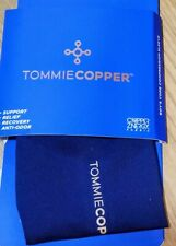 Tommy Copper Boys Sports Core Compression Knee Sleeve, Medium, Dark Blue