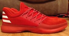 Mens Adidas James Harden Vol 1 Red/White Boost Basketball Shoes Size 20