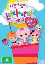 Adventures In Lalaloopsy Land - The Search For Pillow (DVD, 2012, Region 4) NEW