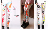 Lady's Punk Sexy Funky Stretchy Leggings Tight Pencil Skinny Pants