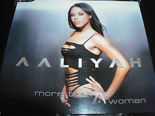 Aaliyah More Than A Woman Australian Remixes CD Single + Rock The Boat