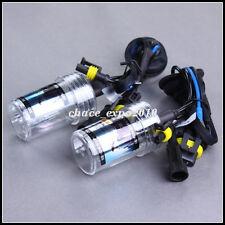 2X Car HID Xenon Headlight Lamp Light For H7 15K 15000K 55W Bulbs Deep Blue New