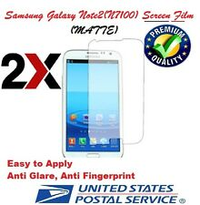 2X Matte Screen Protector Skin Film Guard For Samsung Galaxy Note 2 II N7100
