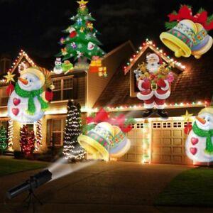 Flashlight Projector Laser Film Lights Christmas Decorations Home Outdoor Decor