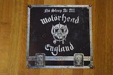 Motorhead No Sleep At All RARE 2-Sided Record Store Promo Album Flat Art Poster