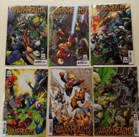 War Of The Realms #1-6 2019 INTERNATIONAL CONNECTING VARIANTS NM SET 1 2 3 4 5 6
