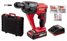 EINHELL TRAPANO MARTELLO TASSELLATORE A BATTERIA POWER X-CHANGE LITIO 18V 1,5 Ah