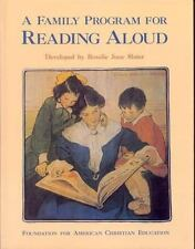 A Family Program for Reading Aloud by Rosalie J. Slater (1991, paper cover)