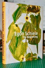 EGON SCHIELE: The Beginning by Christian Bauer - Large Hardback - out of print