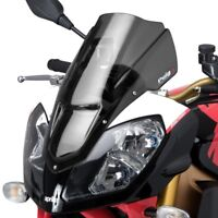 APRILIA TUONO 1000 R 2006 > 2010 PUIG DOUBLE BUBBLE SCREEN DARK SMOKE RACING
