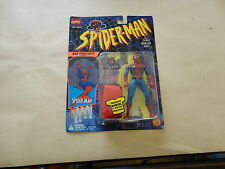 spiderman animated series web parachute action 1994 toybiz
