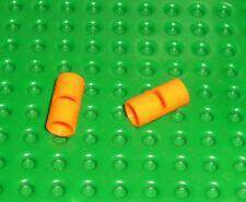 LEGO-TECHNIC-pin conector redondo con ranura Naranja x 2 (62462) TK1468