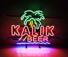 "17""X14"" Kalik Beer Bar Pub Tavern Artwork Decor Poster Real Neon Light Sign"