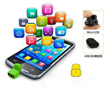 Hot Android Robot Micro USB Host OTG Adapter Cable for cell phone