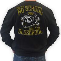 BIKER Sweater THERE IS NO SCHOOL LIKE THE OLDSCHOOL  Motorrad Rocker MC S-3XL