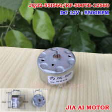 RF-500TB-12560 Mini DC Motor DC 5V~12V 5500RPM 32mm Diameter Bell & Fragrance