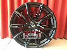 "20"" INCH HUSSLA MEDUSA 20X8.5 20X9.5 STAGGERED WHEELS HOLDEN FORD MAZDA TOYOTA"