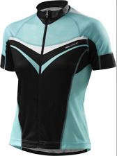 Specialized Cycling Womens RBX Comp Jersey SS Black/light Teal Large L