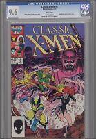 Classic X-Men #6 CGC 9.6 1987 Marvel Comic:Make an Offer!