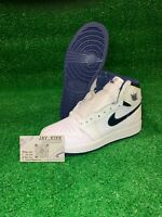"""*** NEW WITH DEFECTS *** Jordan 1 Retro High OG """"Metallic Navy"""" (GS) Size 6Y"""