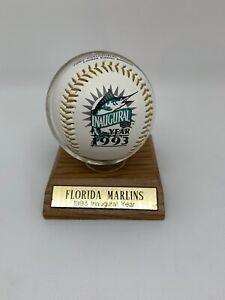 Florida Marlins 1993 Inaugural Year Limited Edition Baseball