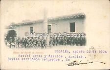 MEXICO OCOTLAN MUSICA DEL CUERPO DE RURALES 1904