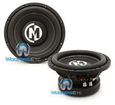 """(2) MEMPHIS BR10S4 10"""" SUBS 800W SINGLE 4-OHM SUBWOOFERS LOUD BASS SPEAKERS NEW"""