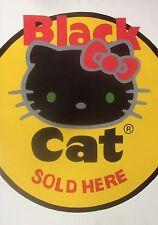 Firecracker label poster HELLO KITTY
