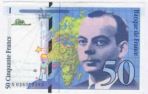 1994 France 50 Francs Bank Note | Pennies2Pounds