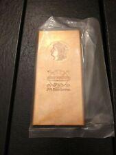 ONE POUND .999 Fine Copper - 2012 USA - Morgan Design Incuse