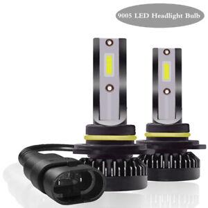 2x 9005 LED Headlight Bulb High/Low Beam Kit 72W 6000K Flip Chip