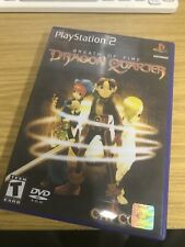 Respiro of Fire Dragon Quarter-Playstation-PS2-stampato COVER