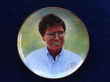"Danbury Mint Cliff Richard Forty Glorious Years"" Full Circle"" plate"