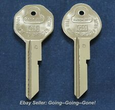 2 1965 Oldsmobile Cutlas 442 OEM Key Blanks NOS