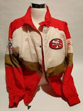 VINTAGE SAN FRANCISCO SF FORTY NINERS JACKET XL 49ers